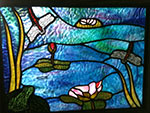 stained glass design by world glass